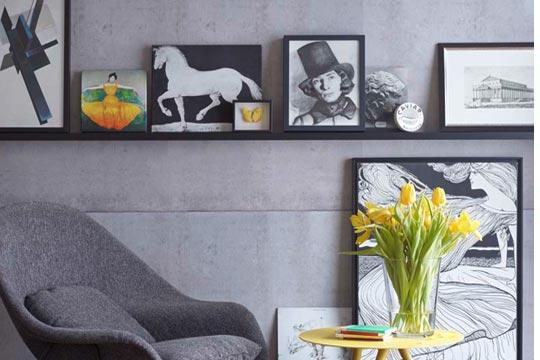colecci n de cuadros en blanco y negro. Black Bedroom Furniture Sets. Home Design Ideas