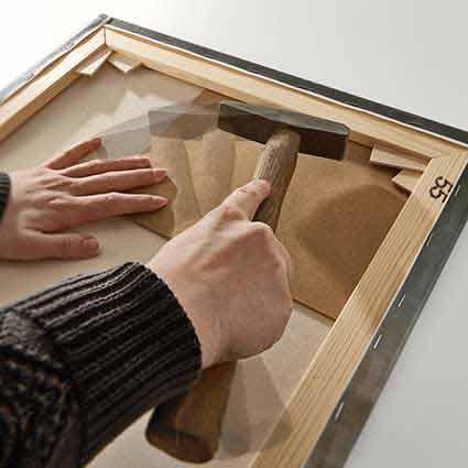Reproducciones montados sobre bastidores de madera - Lienzo sobre bastidor ...