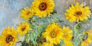 Claude Monet - Ramo de girasoles