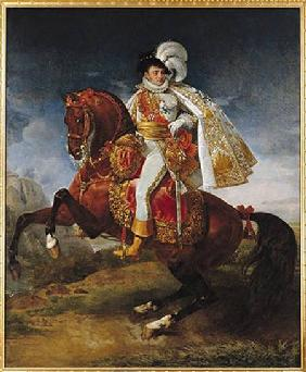 Equestrian Portrait of Jerome Bonaparte (1784-1860)