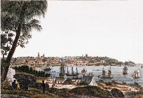 Sydney, view of the city