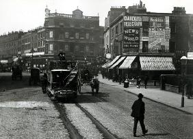 The Angel, Islington, London, c.1890 (b/w photo)