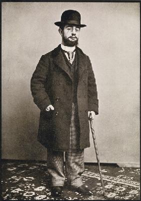 Henri de Toulouse-Lautrec, from ''Toulouse-Lautrec'' by Gerstle Mack, published 1938 (b/w photo)
