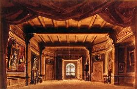 Set design for the opera ''The Barber of Seville'',