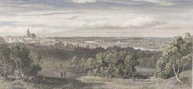 Panoramic view of Prague , Poppel
