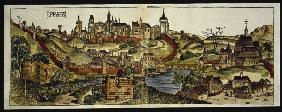 View of Prague , from: Schedel