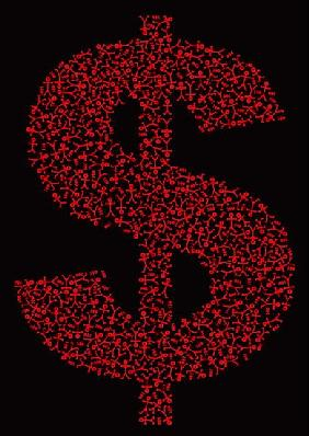 Dollar People Icon, 2006 (digital)