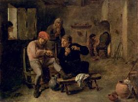 Tavern Scene, or The Village Fiddler