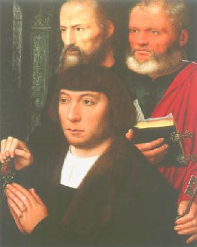 Founder portraits with the apostles of Peter and P