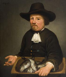 Man with the Bucket of Fish