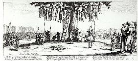 The Hanging, plate 11 from ''The Miseries and Misfortunes of War''; engraved by Israel Henriet (c.15
