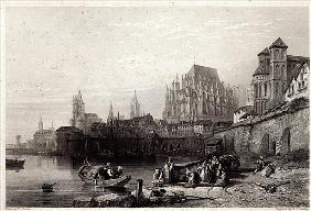 The City of Cologne; engraved by M.J. Sterling