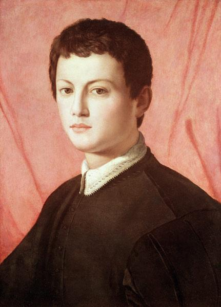 Portrait of a young man (panel)