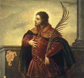 D.Tintoretto / Holy Martyr / Paint.