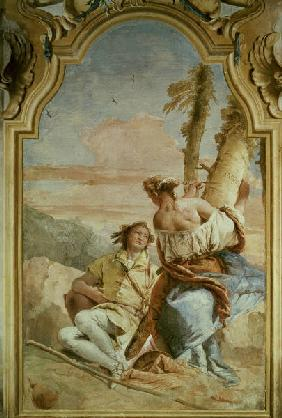 G.B.Tiepolo /Angelica and Medoro/ 1757