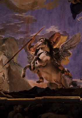 Tiepolo / Bellerophon on Pegasus / 1750