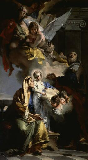 Education of the Virgin Mary / Tiepolo
