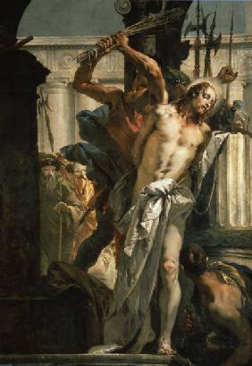 Flagellation of Christ / Tiepolo