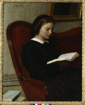 The Reader / Fantin-Latour / 1861
