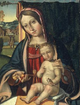Mary with Child / Ital.Paint./ C16th