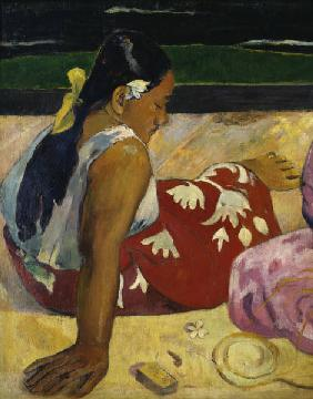 Paul Gauguin / Women in Tahiti / 1891