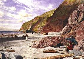Lynmouth, Devon, the Story of the Shipwreck