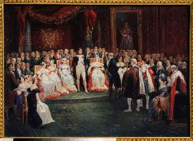 The Reception by Emperor Napoleon Bonaparte