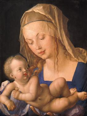 Durero, Alberto : The Madonna with the pear ...