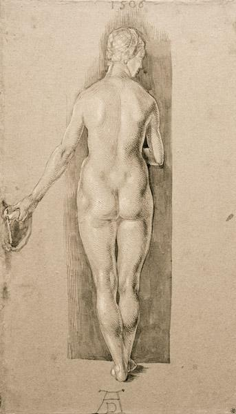 A.Dürer, Female Nude fr.Behind / 1506