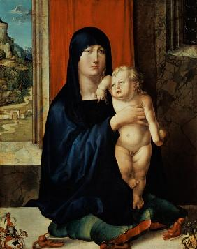 Durero, Alberto : Madonna with child