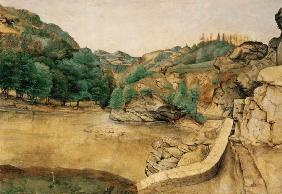 Path in the Alps, 1495 Wood Real Monaste