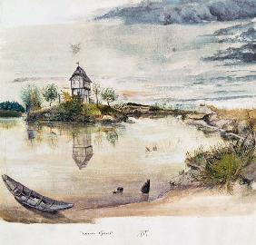 Durero, Alberto : House at fishpond