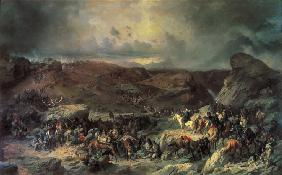 Army of Alexander Suvorov Crossing the St. Gotthard Pass in September 1799