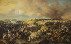 The Battle of Kunersdorf on August 12, 1759