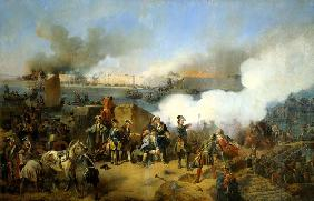 Taking of the Swedish Nöteburg Fortress by Russian Troops on October 11, 1702