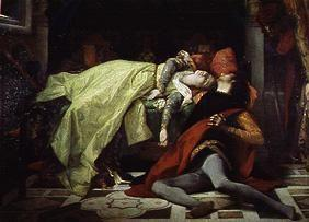 Cabanel, Alexandre : The death of the Francesca...