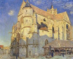 The Church at Moret, Frosty Weather
