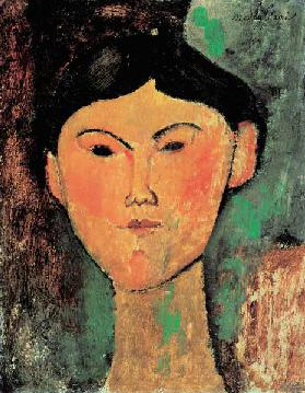 Beatrice Hastings/Painting by Modigliani
