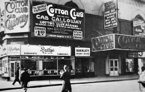 The Cotton Club in Harlem, New York City, c.1930 (b/w photo)