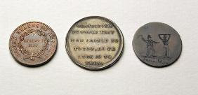 Anti-Slavery Coins and Medal (metal) (obverse) (for reverse see 187697)