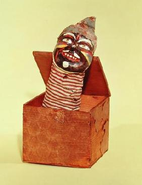 Jack-in-the-box, c.1870-1900 (mixed media)