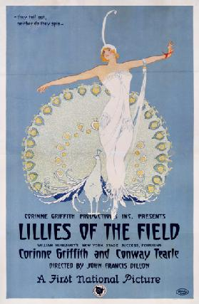 Poster advertising the film 'Lillies of the Field', printed by Ritchey
