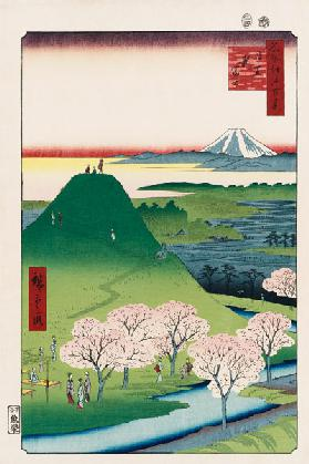 New Mt. Fuji in Meguro (One Hundred Famous Views of Edo)