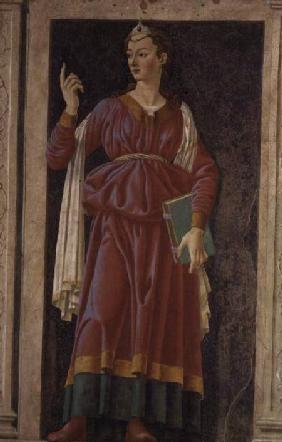 The Cuman Sibyl, from the Villa Carducci series of famous men and women
