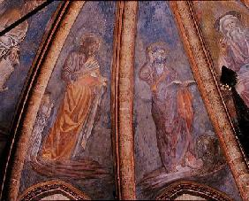St Matthew and St Mark, from Vault of the Apse in the Chapel of St Tarasius