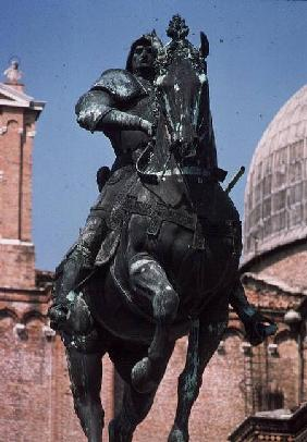 COX/I 53 Equestrian statue of the condottiere Bartolomeo Colleoni
