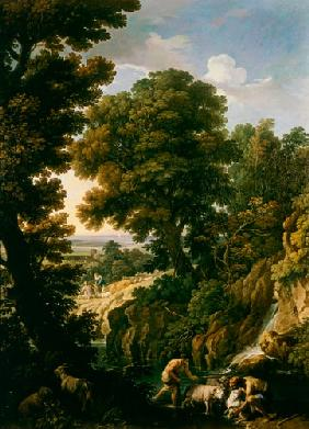 A Landscape with Shepherds