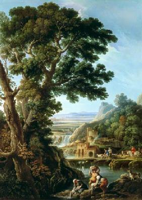 A Landscape in Latium with Washerwomen