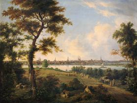 View of Lubeck