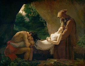 Girodet de Roucy-Trioson, Anne-Louis : The Tomb of Atala